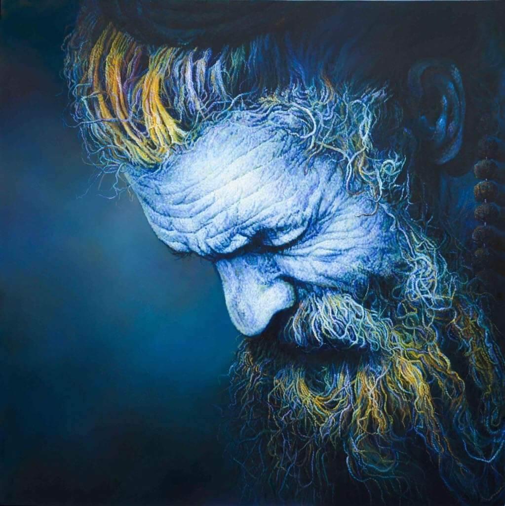 Viveek Sharma, <em>Life lines IV,</em><em> </em>2016