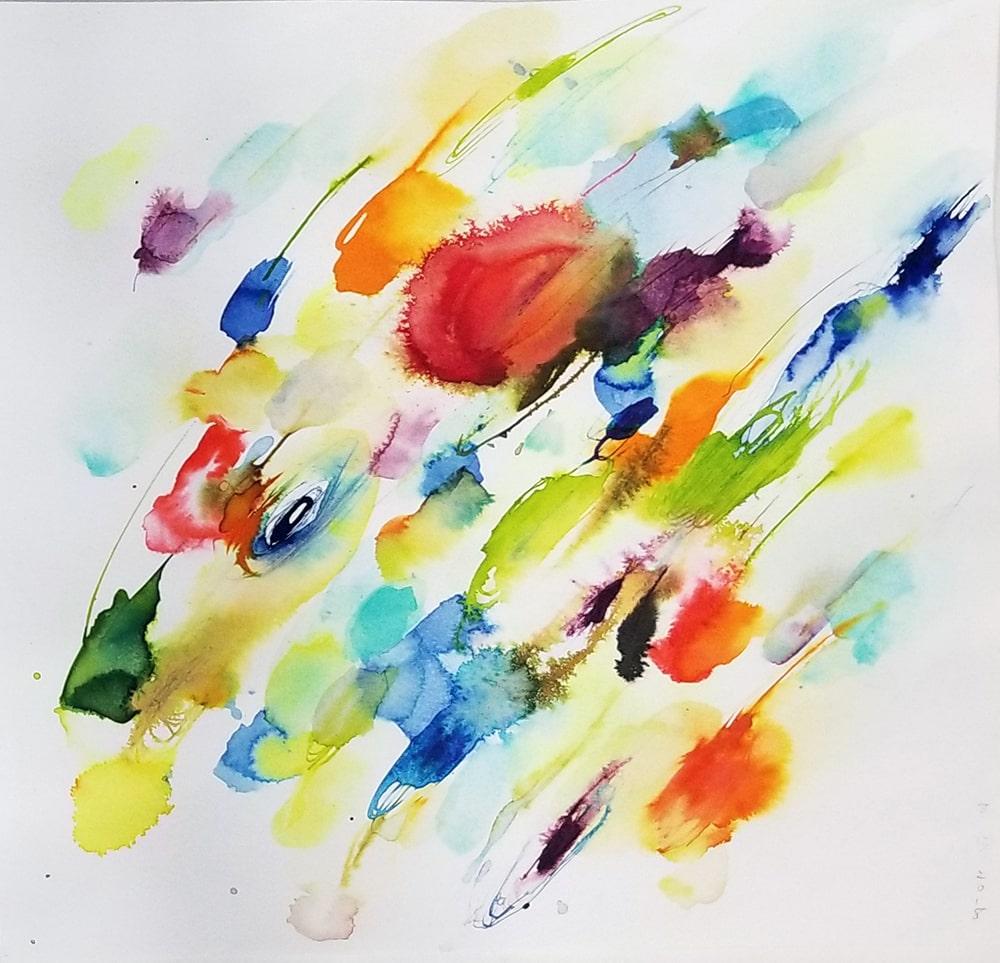Sun K. Kwak, <em>Color rain</em><em> </em>2018