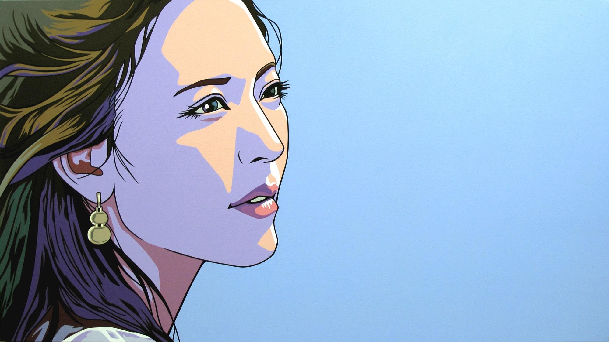 Dongi Lee, <em>Blue Shadows,</em> 2013