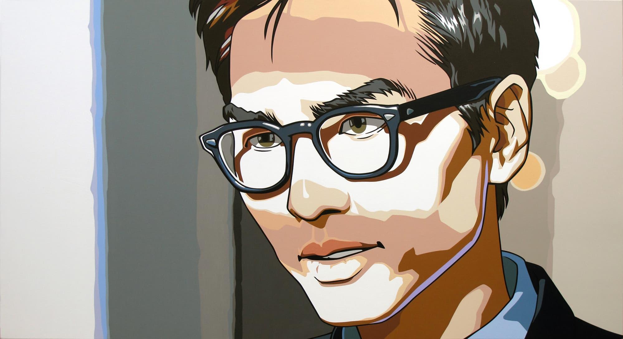 Dongi Lee, <em>Man with Glasses,</em> 2013