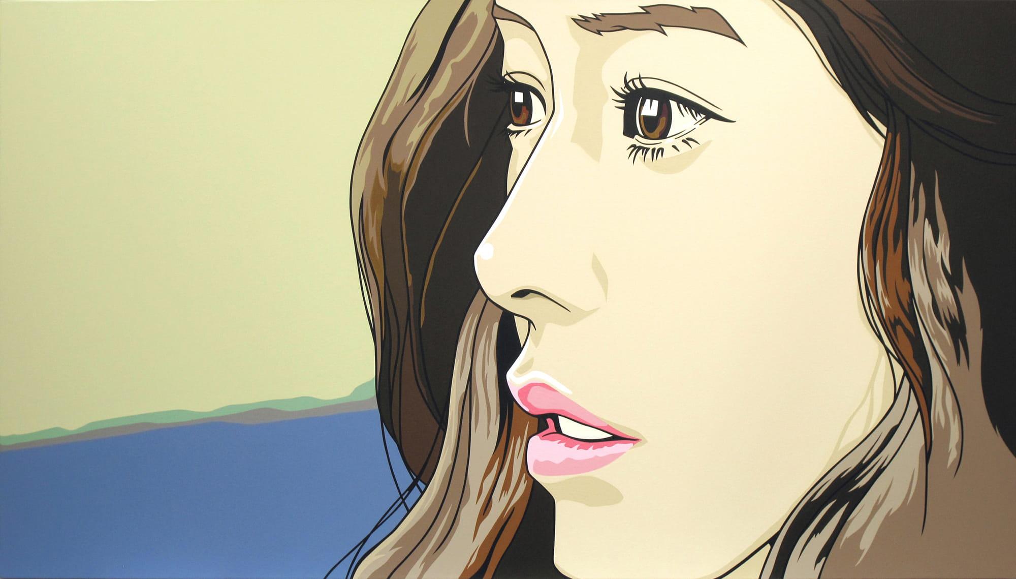 Dongi Lee, <em>Staring Woman,</em> 2013