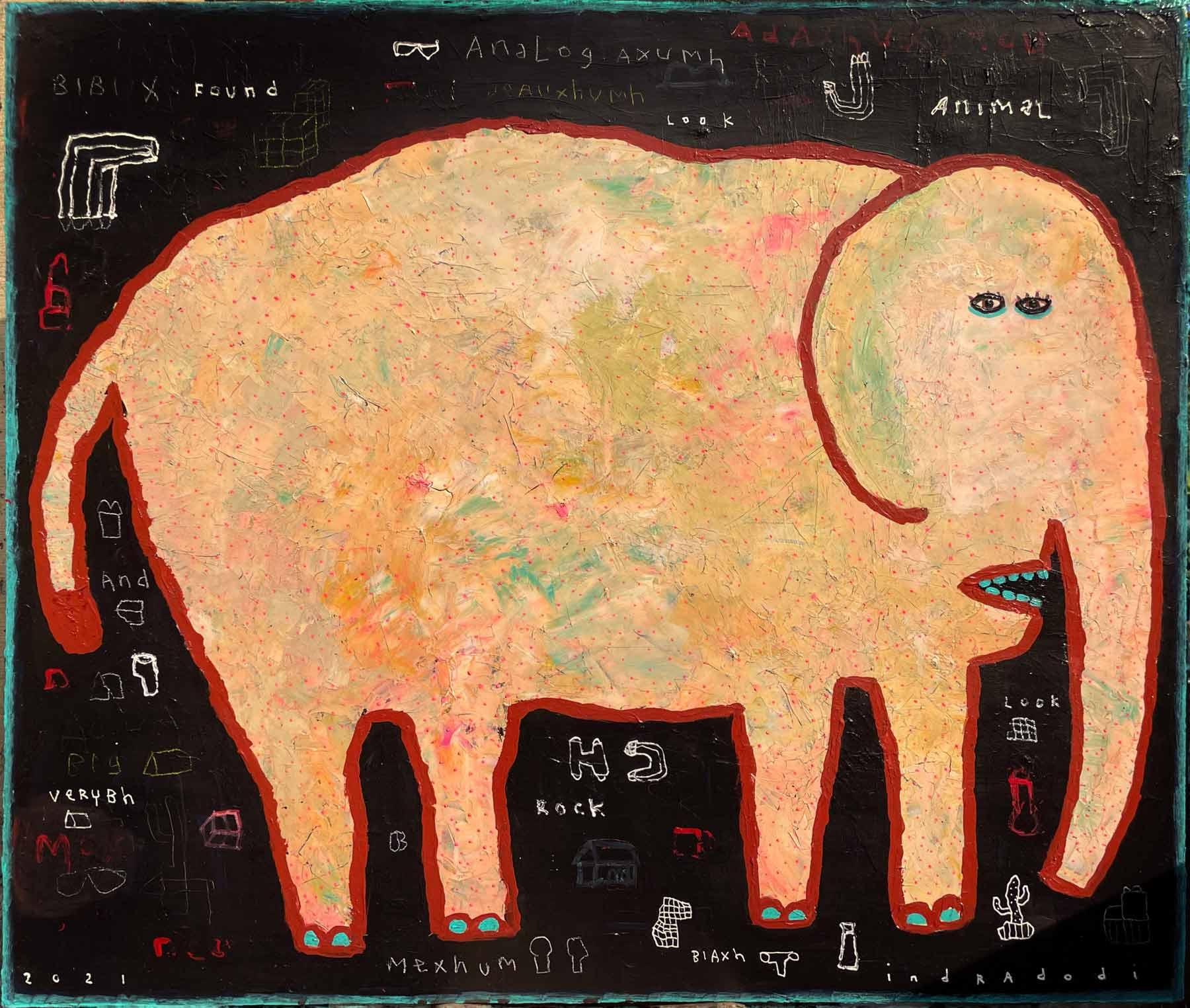 Indra Dodi, <em>Elephant,</em> 2021